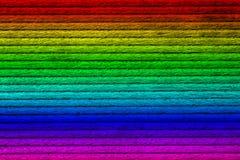 La texture de la planche en bois, spectre a peint, en gros plan, images stock