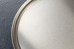 La texture de surface de fer-blanc représentent la texture et le backgrou Photographie stock libre de droits