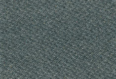 La texture de tissu de tweed de vert de mer profonde a détaillé fond approximatif horizontal texturisé détaillé de textile de sty Images stock