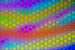 La texture des bulles le polyéthylène image stock
