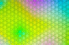 La texture des bulles le poly?thyl?ne image libre de droits