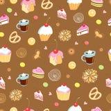 La texture des gâteaux illustration libre de droits