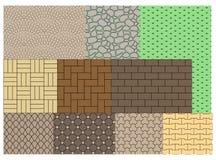 La texture des pavés Image stock