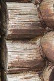 La texture des rondins Photographie stock libre de droits