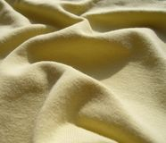 La texture des tricots de coton Image libre de droits
