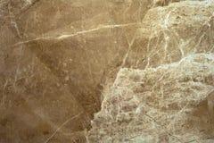 La texture du marbre est une nuance vert-brune Photographie stock libre de droits