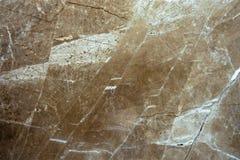 La texture du marbre est une nuance vert-brune Images libres de droits