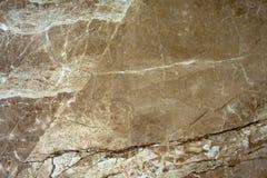 La texture du marbre est une nuance vert-brune Image libre de droits