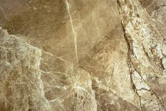La texture du marbre est une nuance vert-brune Photo libre de droits