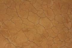 La texture du mur d'argile Photographie stock libre de droits
