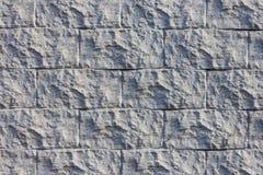 La texture du mur du gris décoratif de brique photos stock