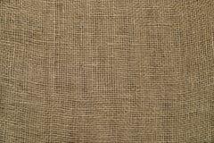 La texture du plan rapproché rugueux de sac à tissu Photographie stock