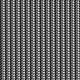 La texture du tissu de carbone est noire Matériel moderne léger et durable illustration libre de droits