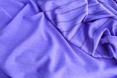 La texture du tissu sirevoy et rayé Photo libre de droits