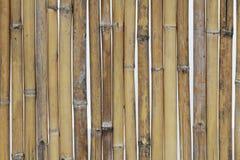 La texture en bambou en gros plan, barrière naturelle modèle des milieux pour la décoration à la maison, bâton de pilier Images libres de droits