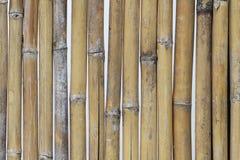 La texture en bambou en gros plan, barrière naturelle modèle des milieux pour la décoration à la maison, bâton de pilier Photos libres de droits
