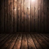 La texture en bois brune Image libre de droits
