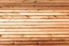 La texture en bois brune avec le fond normal de configurations images libres de droits