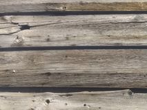 La texture en bois de conseil a baill? photos libres de droits