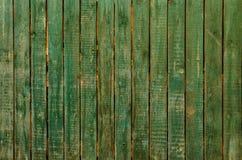 La texture en bois verte avec les modèles naturels Photographie stock