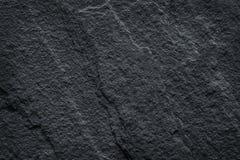 La texture en pierre gris-foncé, pierre noire d'ardoise modèle le fond abstrait naturel images libres de droits