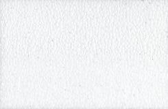 La texture est une mousse blanche Fond de texture de mousse de styrol E Texture de surface plane de mousse de polystyrène photographie stock libre de droits