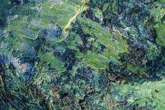 La texture extérieure naturelle de la serpentinite a extrait dans les montagnes d'Ural photos stock