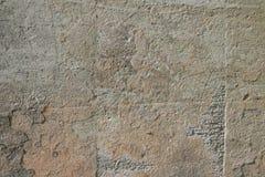 La texture fendue a rayé le plâtre gris image stock