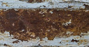 La texture lourde en métal d'érosion s'est fanée couleur bleue, fond grunge abstrait Fond superficiel par les agents de texture e photographie stock