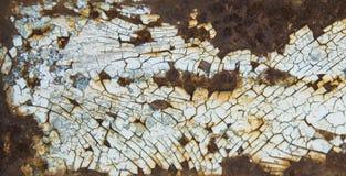 La texture lourde en métal d'érosion s'est fanée couleur bleue, fond grunge abstrait Fond superficiel par les agents de texture e image stock