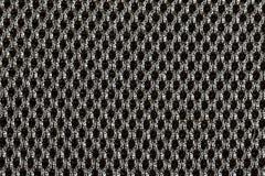 La texture noire texturisée de tissu de tissu avec les modèles naturels peut être Image libre de droits