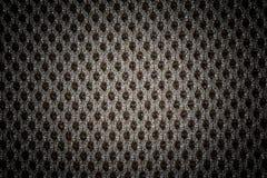 La texture noire texturisée de tissu de tissu avec les modèles naturels peut être Photographie stock libre de droits