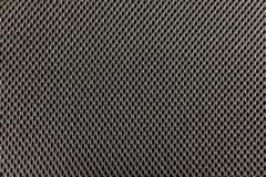 La texture noire texturisée de tissu de tissu avec les modèles naturels peut être Photos stock