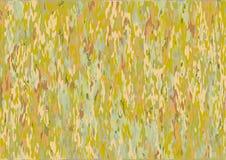 La texture ou le fond a formé vert, orange, jaune, brun illustration de vecteur