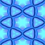 La texture ou le fond géométrique bleue abstraite a rendu sans couture Image stock