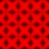 La texture ou le fond géométrique rouge abstraite a rendu sans couture Photo stock