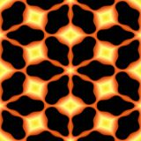 La texture ou le fond géométrique ardente abstraite a rendu sans couture Image stock