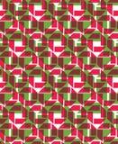 La texture sans fin colorée de vecteur avec le recouvrement géométrique figure, Photos libres de droits