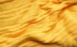 La texture, surface d'un tissu de laine tricoté Fond, contexte pour créer des dispositions d'un hiver, cartes de Noël, bannières Photographie stock libre de droits