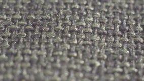 La texture tricotent le tissu texturisé extrêmement étroit  clips vidéos