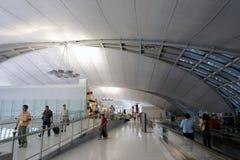 La Thaïlande : Aéroport de Suvarnabhumi Images stock
