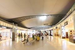 La Thaïlande : Aéroport de Suvarnabhumi Image stock
