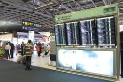 La Thaïlande : Aéroport de Suvarnabhumi Photos stock