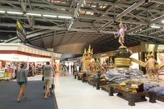 La Thaïlande : Aéroport de Suvarnabhumi Photos libres de droits