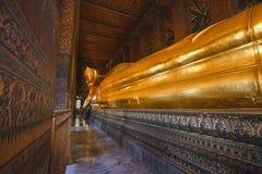 La Thaïlande, Bangkok, Pranon Wat Pho photo libre de droits