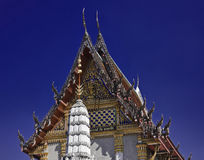 La Thaïlande, Bangkok, temple d'Indrawiharn Photo stock