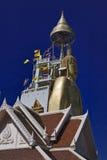 La Thaïlande, Bangkok, temple d'Indrawiharn image libre de droits