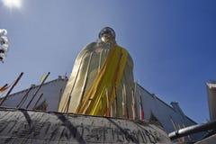 La Thaïlande, Bangkok, temple d'Indrawiharn images libres de droits