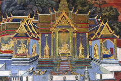 La Thaïlande Bangkok Wat Phra Kaew photographie stock