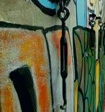 La Thaïlande colore l'art de rue Images libres de droits